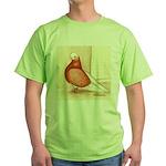 English Shortface Bald Green T-Shirt