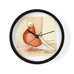 English Shortface Bald Wall Clock