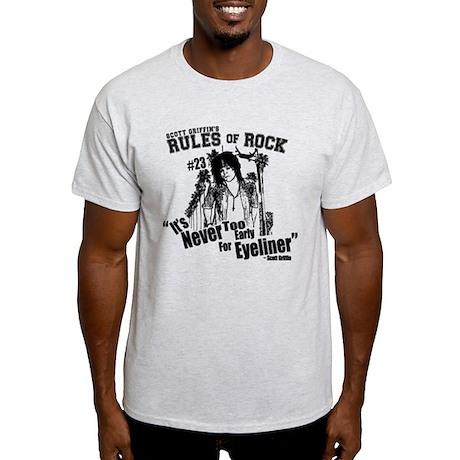 Rules of Rock #23 - Eyeliner Light T-Shirt