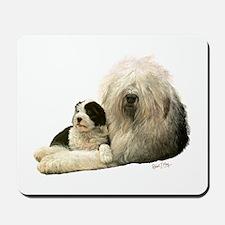 Old Eng. Sheepdog / Bobtail Mousepad