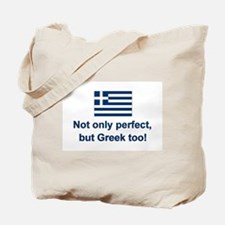 Perfect Greek Tote Bag