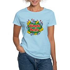 Christmas Cartoon Jingle Bel T-Shirt