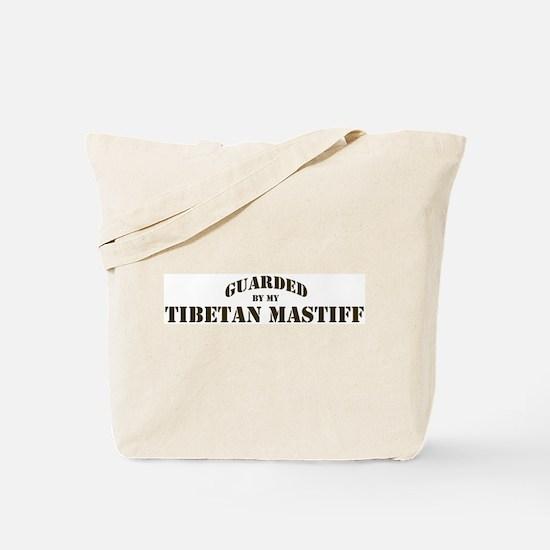 Tibetan Mastiff: Guarded by Tote Bag