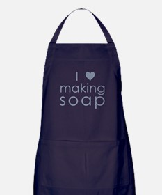 Cute Soaps Apron (dark)