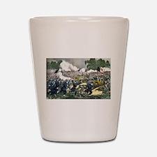 The battle of Gettysburg, Pa - 1863 Shot Glass