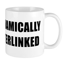 DYNAMICALLY INTERLINKED - black Mug