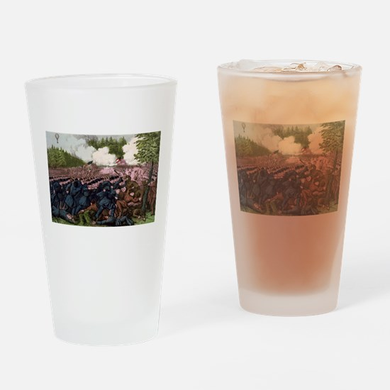 The Battle of Fair Oaks, Va - 1862 Drinking Glass