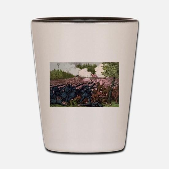 The Battle of Fair Oaks, Va - 1862 Shot Glass