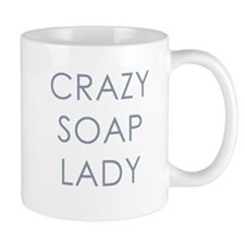 Crazy Soap Lady Mug