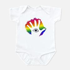 Rainbow Hamsa Infant Bodysuit