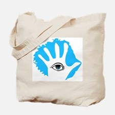 Blue Hamsa Tote Bag