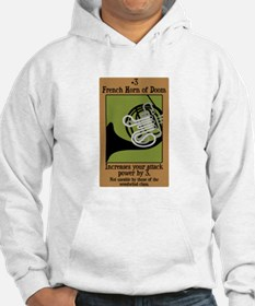 French Horn of Doom Hoodie