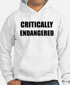 CRITICALLY ENDANGERED - black Hoodie
