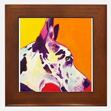 Great Dane #9 Framed Tile