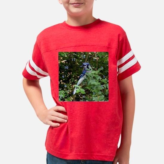 clockbjbush Youth Football Shirt
