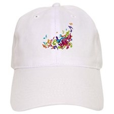 Music - Musician - Band - Music Notes Baseball Baseball Cap
