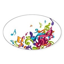Music - Musician - Band - Music Notes Decal