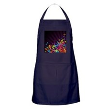 Music - Musician - Band - Music Notes Apron (dark)