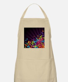Music - Musician - Band - Music Notes Apron