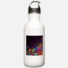 Music - Musician - Band - Music Notes Water Bottle