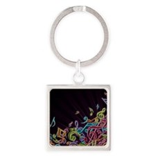 Music - Musician - Band - Music Notes Keychains