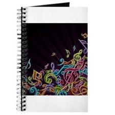 Music - Musician - Band - Music Notes Journal