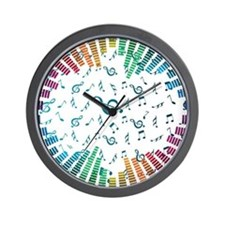 Music - Musician - Band - Music Notes Wall Clock