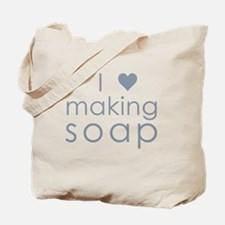 Cute Soapmaker Tote Bag