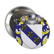 "Bone Coat of Arms 2.25"" Button"