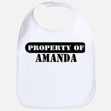 Property of Amanda Bib