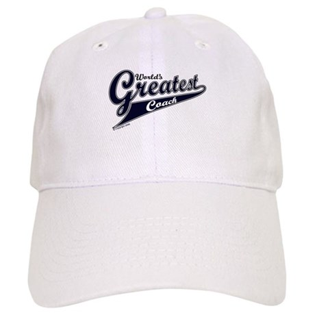 """World's Greatest Coach"" Cap"