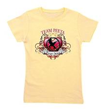 Team Peeta Heart copy.png Girl's Tee