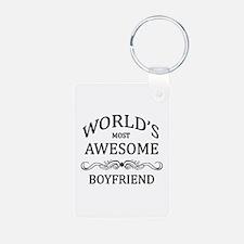 World's Most Awesome Boyfriend Keychains