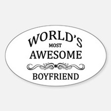 World's Most Awesome Boyfriend Decal