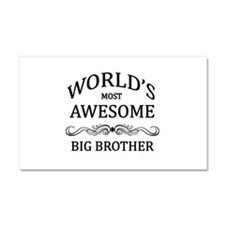 World's Most Awesome Big Brother Car Magnet 20 x 1