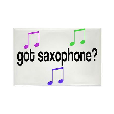 Got Sax? Rectangle Magnet