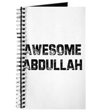 Awesome Abdullah Journal