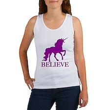Believe Unicorn Women's Tank Top