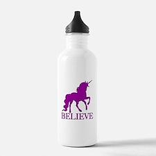 Believe Unicorn Water Bottle