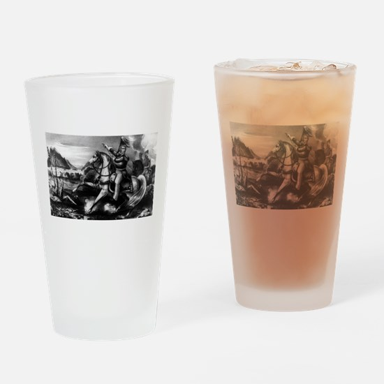Major Genl. Z. Taylor before Monterey - 1848 Drink