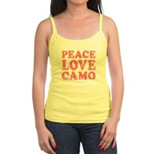 Peace Love Camo Tank Top