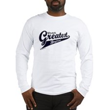 """World's Greatest Boyfriend"" Long Sleeve T-Shirt"