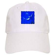 Shark and Stingray Baseball Baseball Cap