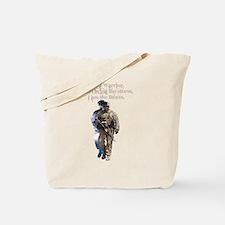 Americans United: Warrior Storm Tote Bag