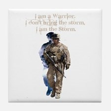 Americans United: Warrior Storm Tile Coaster