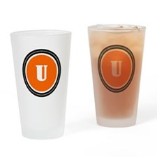 Orange Drinking Glass