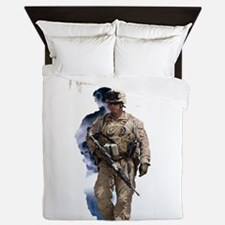 Americans United: Warrior Storm Queen Duvet