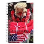 Patriotic Dog Journal
