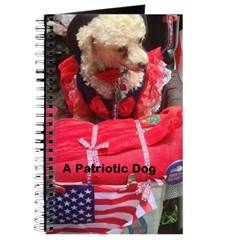 Patriotic Dog Journal