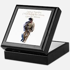Americans United: Warrior Storm Keepsake Box